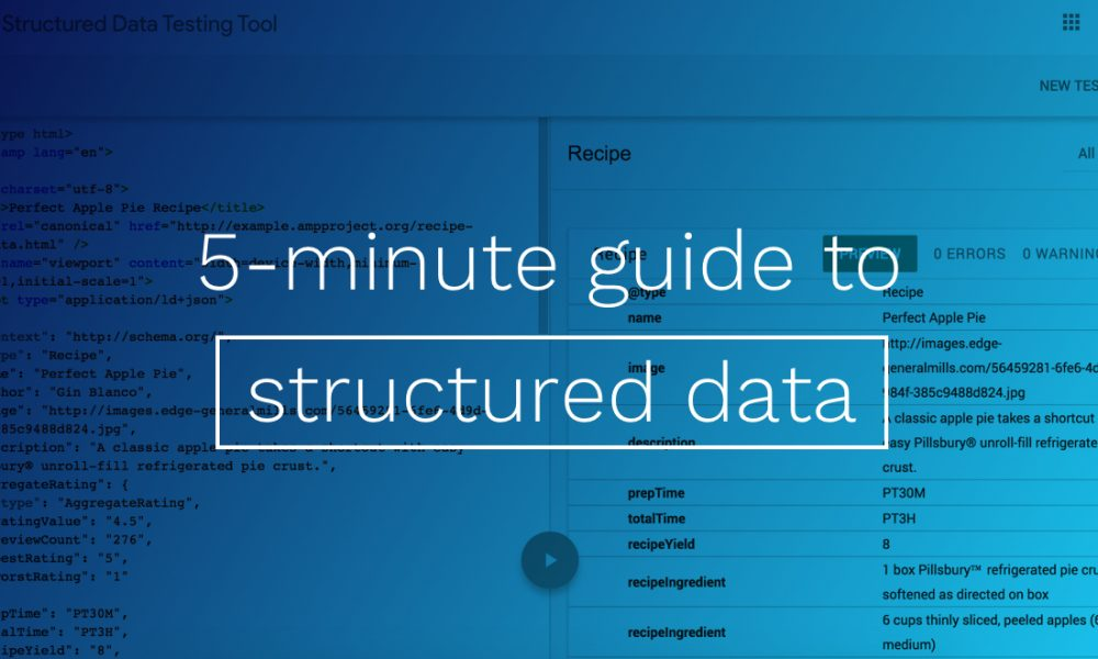 5-minute guide to Structured Data