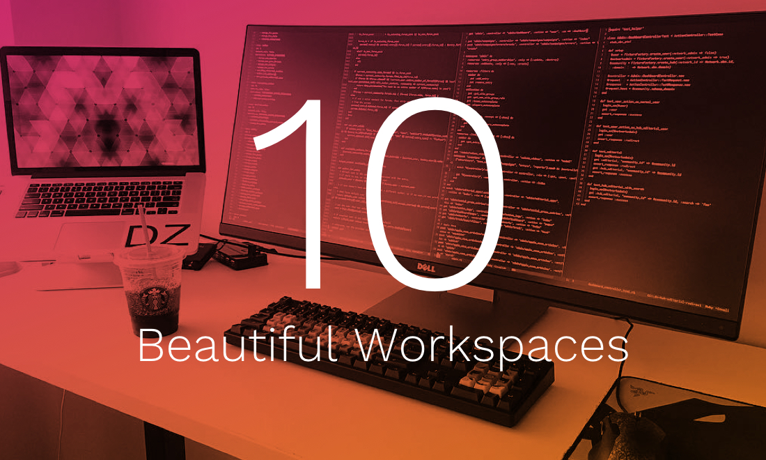 10 beautiful workspaces and office setups