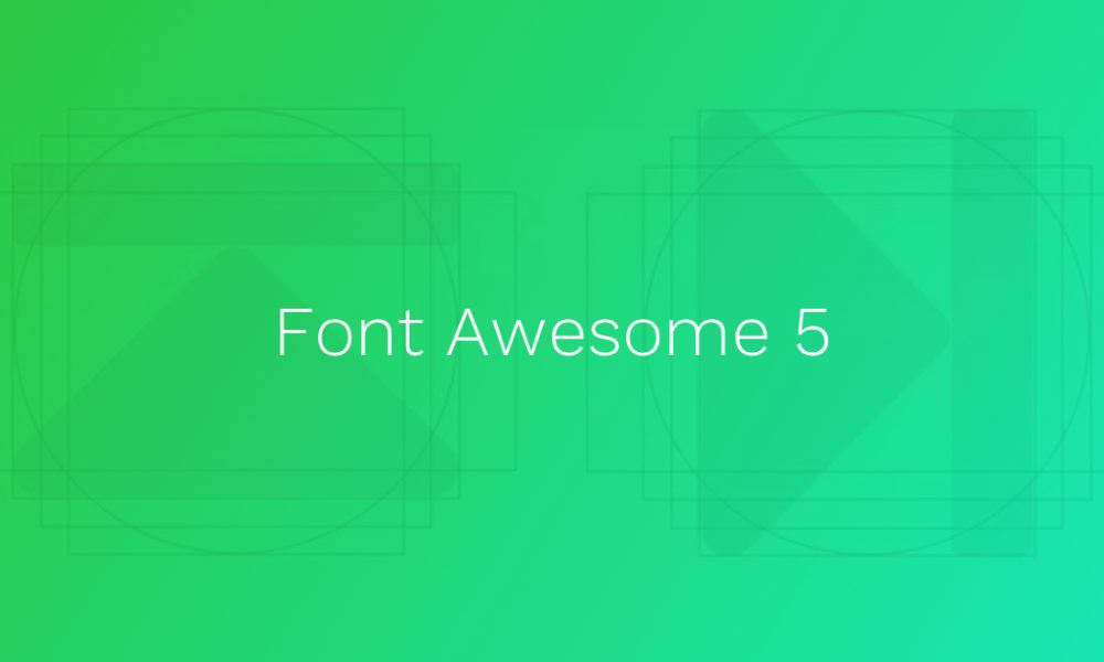 Font Awesome 5 is nearly here and it looks, well, awesome
